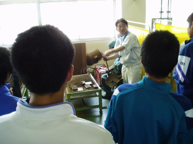 中学生体験入学 15