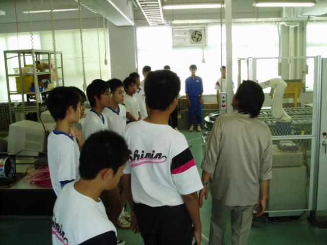 中学生体験入学 41